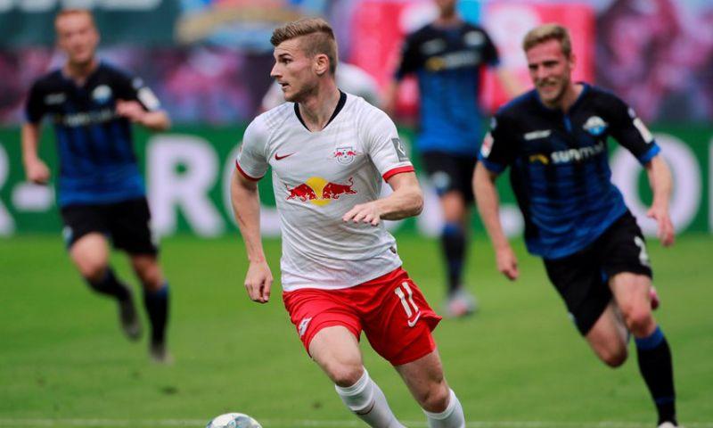 Afbeelding: 'Derde optie voor Werner naast Liverpool en Chelsea: spits heeft keuze al gemaakt'
