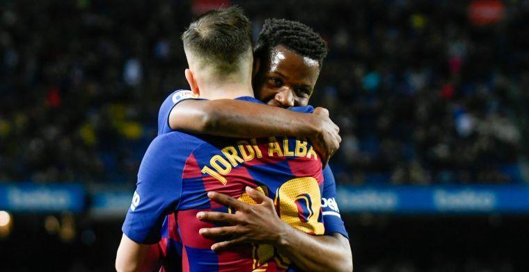 Update: 'Manchester United zit achter bod van 100 miljoen euro op Barça-talent'
