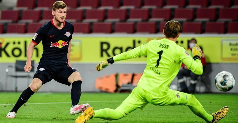 Liverpool mag blijven hopen op Werner, RB Leipzig ontkent deal met Chelsea