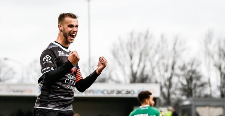 'Eerst een jaar Eerste Divisie en dan knallen in de Eredivisie'
