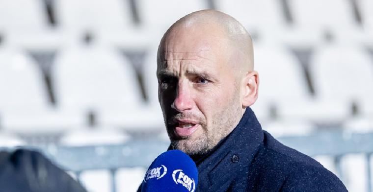 'Jong Ajax-trainer Van der Gaag moest het afleggen tegen die Duitser, Letsch'