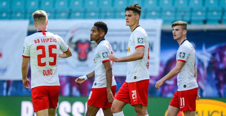 Leipzig geeft zege uit handen tegen Paderborn: gelijkmaker in blessuretijd