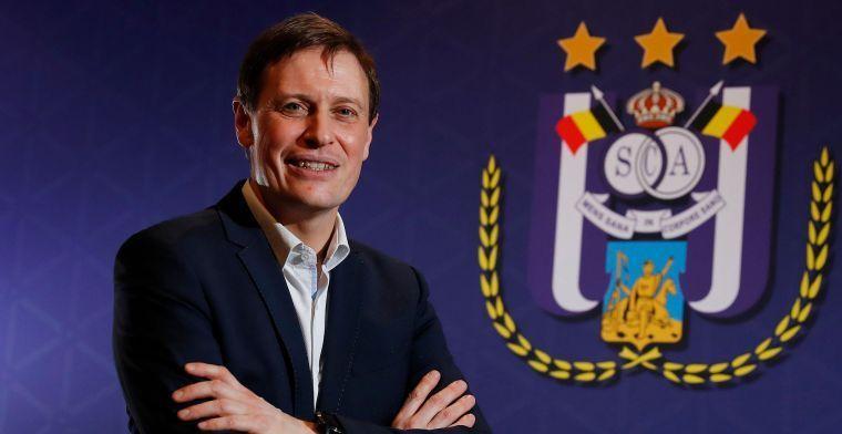 Van Eetvelt duidelijk over transfers bij Anderlecht: We halen geen grote namen