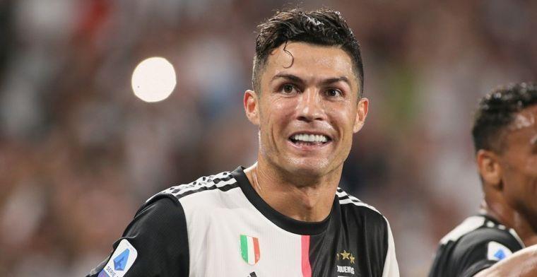 Ronaldo is Messi de baas en slecht als eerste voetballer magische grens