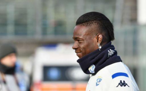 Afbeelding: Balotelli wil training hervatten maar wordt weggestuurd door Brescia