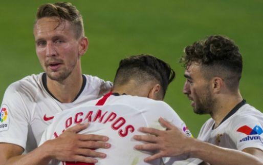 Afbeelding: Sevilla trapt af met derbyzege en blijft op Champions League-koers