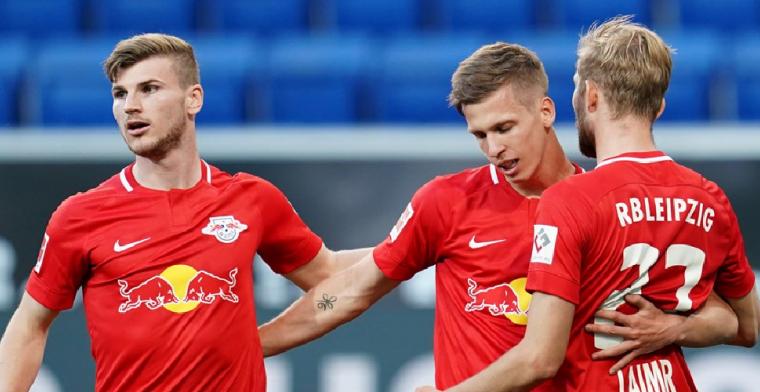 Olmo doet Schreuder-loos Hoffenheim in twee minuten tijd de das om