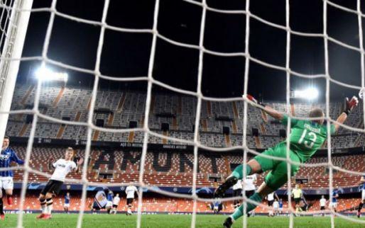 Afbeelding: Cillessen krijgt tegengoal in minuut 97: Valencia verspeelt dure punten