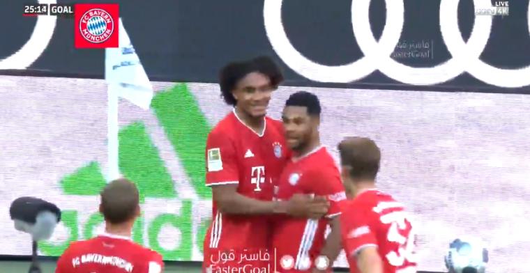 Zirkzee laat zich zien en maakt openingsgoal voor Bayern München