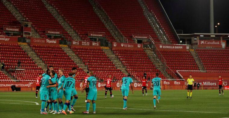 LIVE: Barça op weg naar drie punten, Messi pikt zijn treffer mee (gesloten)