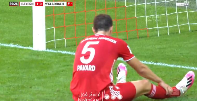 Hoe krijg je het voor elkaar: Pavard (Bayern) maakt ongelukkige eigen goal