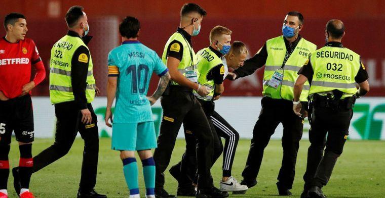 Barça-veldbestormer: 'Messi wilde vanwege het virus niet op de foto'
