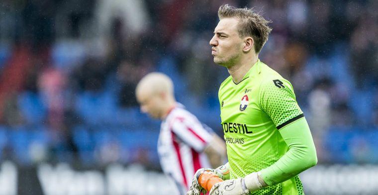 'Willem II doet zaken met Almere City, maar snijdt drastisch in keepersbestand'