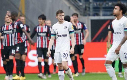 Afbeelding: Frankfurt zet eindsprintje in en verlengt dramatische reeks van Schalke