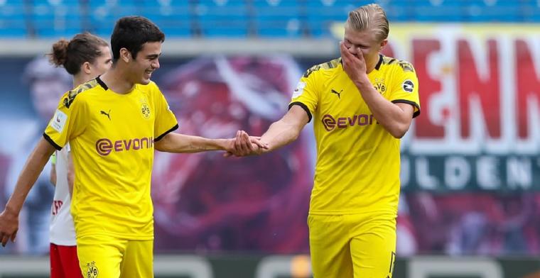 Haaland looft Dortmund-parel (17): 'Ik noemde hem The American Dream'