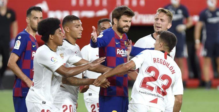 Piqué baalt en trekt conclusies: 'Voor Barça moeilijk om titel nog te winnen'