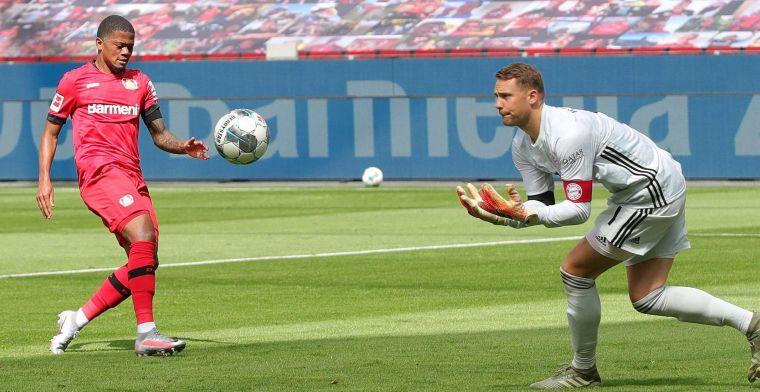 'Drie Engelse topploegen willen Leon Bailey losweken bij Leverkusen'