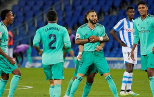 Afbeelding: Real Madrid kan juichen na controversieel duel in San Sebastián en verdringt Barça