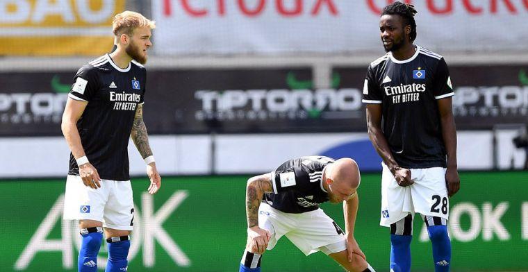 Bizarre ontknoping in minuut 95 voor HSV: Bundesliga-Dino afhankelijk van kampioen