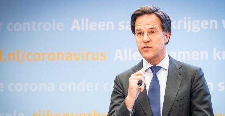 Rutte bevestigt: voetbalfans weer welkom bij start van nieuwe Eredivisie