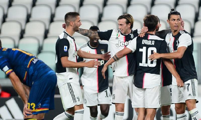 Afbeelding: Scorende De Ligt draagt bij aan ruime overwinning van Juventus
