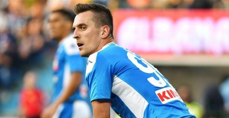'Milik ontvangt aanbieding van Atlético Madrid, Malen in beeld bij Napoli'