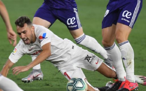 Afbeelding: Wéér gelijkspel voor Sevilla, De Jong al in de rust gewisseld