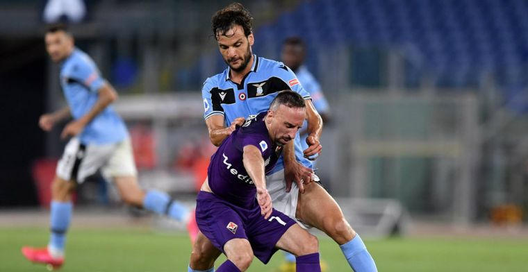 Lazio is ritme helemaal kwijt na corona, maar komt bevlieging Ribéry te boven