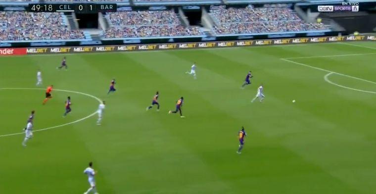 Barça laat zich verrassen: Piqué tegen twee man, ex-Feyenoorder Smolov scoort