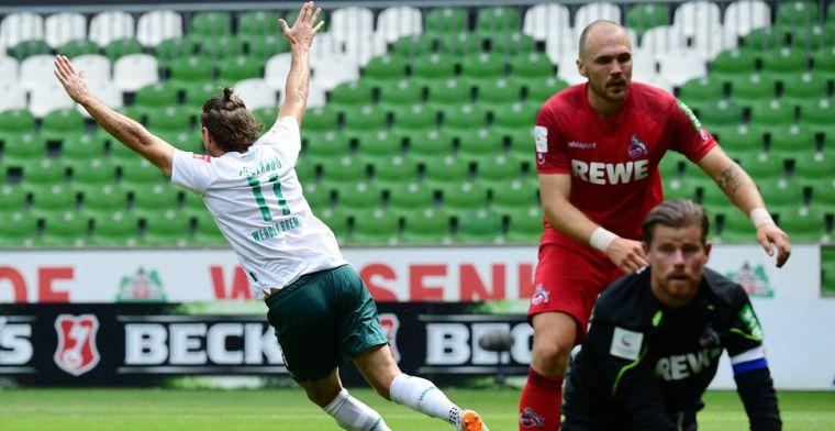 Werder Bremen maakt er zes en ontsnapt dankzij Union Berlin aan degradatie