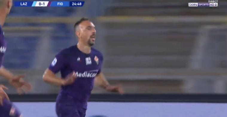 Robbery nog niet versleten! Ribéry (37) dartelt langs Lazio-verdedigers en scoort