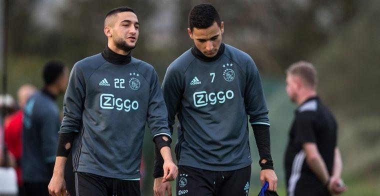 Ten Hag: 'Ziyech zei dat hij niet van clubliefde is, maar bij Ajax is het anders'