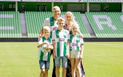 Afbeelding: Robben op de fiets naar FC Groningen: 'Voor andere club had ik dit niet gedaan'