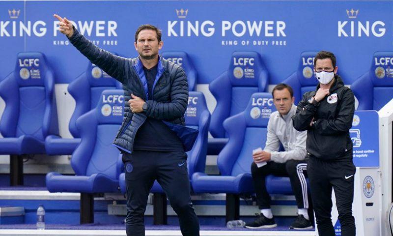 Afbeelding: Chelsea trekt aan het langste eind in topper: drie  'half time subs' van Lampard