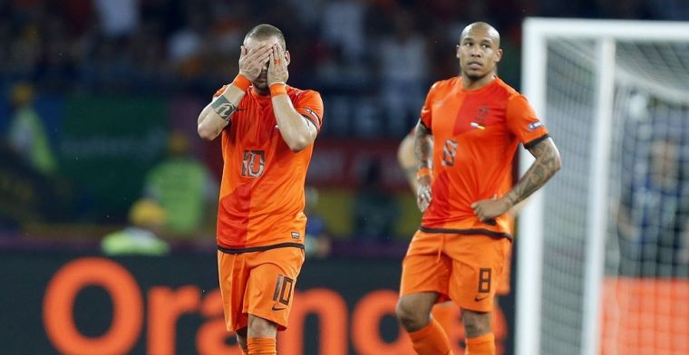 Sneijder onthult knallende ruzie Huntelaar en Van Bommel: 'Ik stond ertussen'