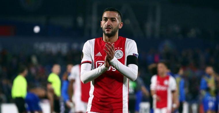 Ziyech maakt Ajax-statement: 'Ik weet niet eens waar ik moet beginnen'