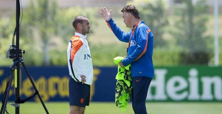 Sneijder onthult ware reden van Van Gaal-besluit: Ik was niet in een club