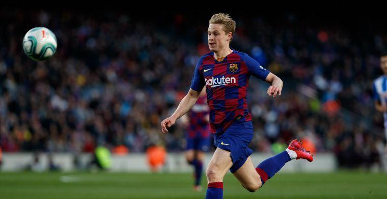 FC Barcelona ook in Spaanse topper zonder Frenkie de Jong