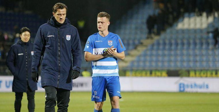 'VVV denkt aan twee oude bekenden: club in onderhandeling met PEC'
