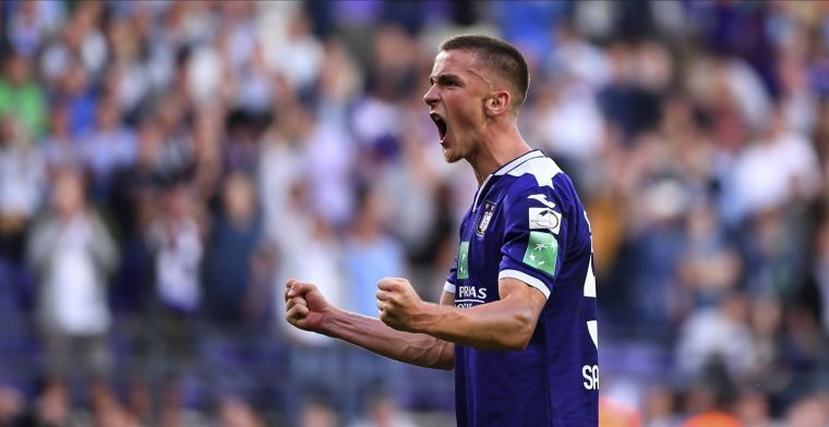 'Anderlecht bereikt akkoord met Milan over definitief vertrek voor 3,5 miljoen'