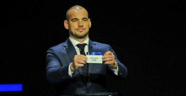 Nieuwe droom Sneijder: 'Ik had graag mijn carrière daar als speler afgesloten'