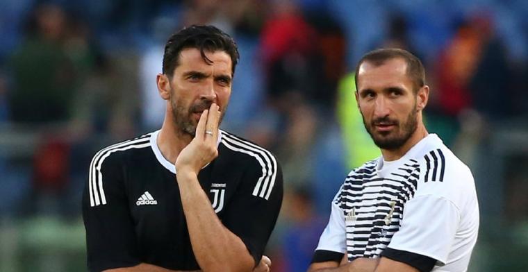 OFFICIEEL: Buffon (42) en Chiellini (35) gaan langer door bij Juventus