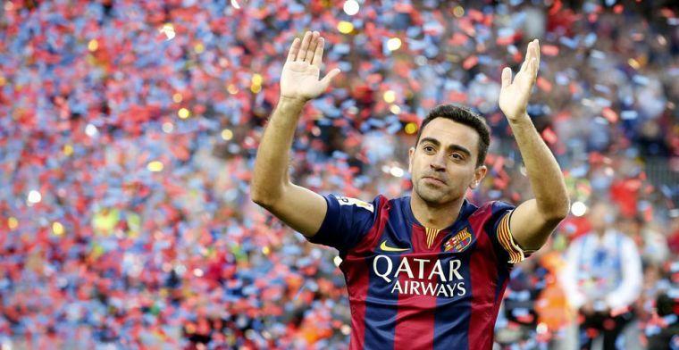 Xavi gooit olie op het vuur: 'Ik wil Barça coachen en ze aan het winnen krijgen'