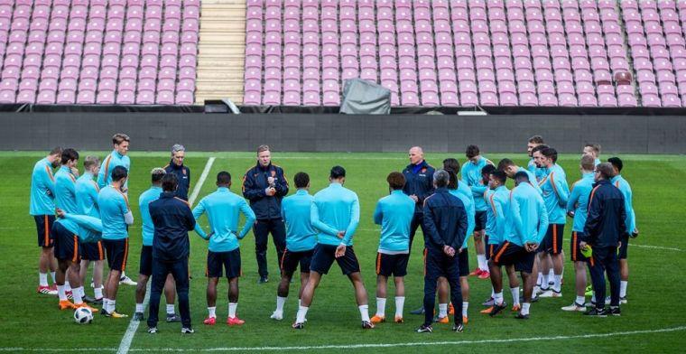 UEFA trapt op de rem: Oranje-duels mogelijk toch zonder publiek