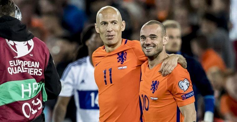 Sneijder: Hij had absoluut een keer de Gouden Bal verdiend, met uitroepteken