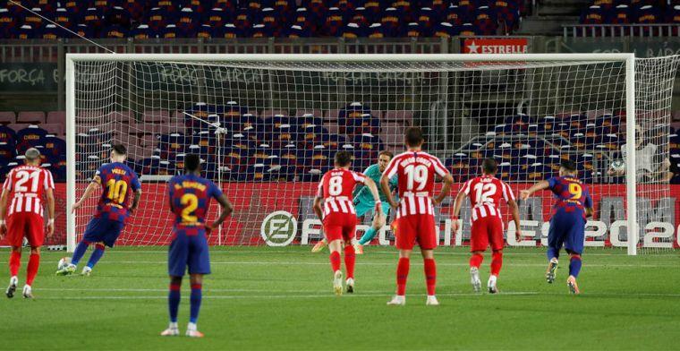 LIVE: het regent penalty's in Camp Nou, Atléti weer op gelijke hoogte (gesloten)