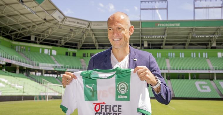 Robben heeft nog lange weg te gaan: 'Je bent zo een maand of vier onderweg'