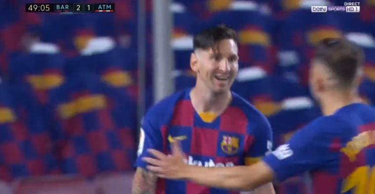 Wat een koning: Messi maakt 700e doelpunt met een panenka