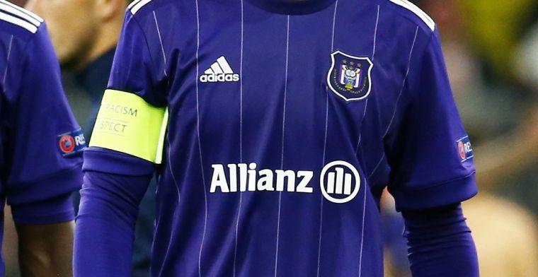 Anderlecht verliest sponsor Allianz, samenwerking stopt na zes jaar