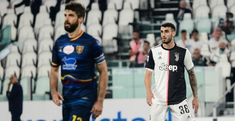Juventus verkoopt debutant paar dagen na vuurdoop voor 7 miljoen aan Atalanta